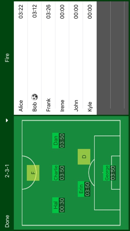 Easy Stats - Soccer screenshot-1