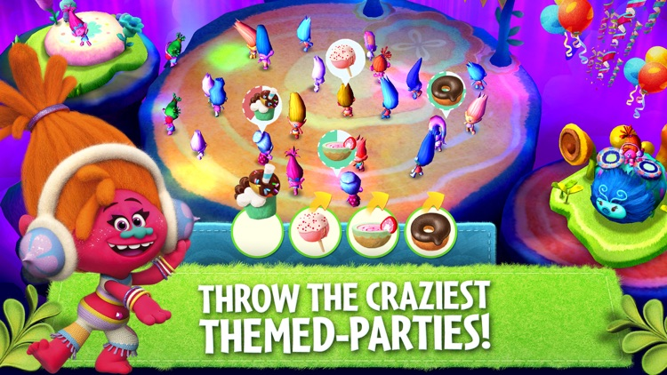 Trolls: Crazy Party Forest! screenshot-3