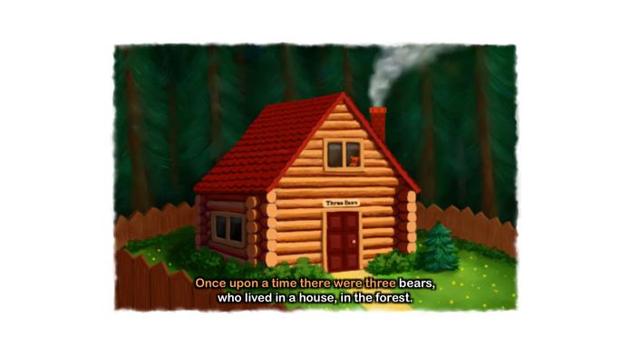Goldilocks and the Three Bears Screenshot