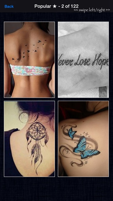 Tattoo Designs! - HD Ink for Tattoos & Wallpapers app image