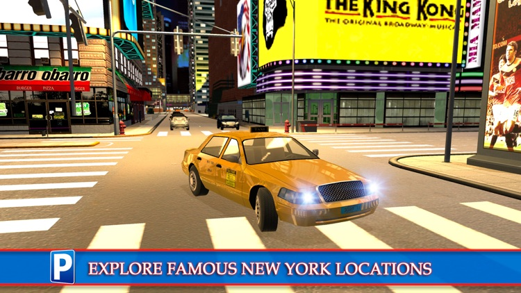 New York City Car Taxi and Bus Parking Simulator screenshot-4