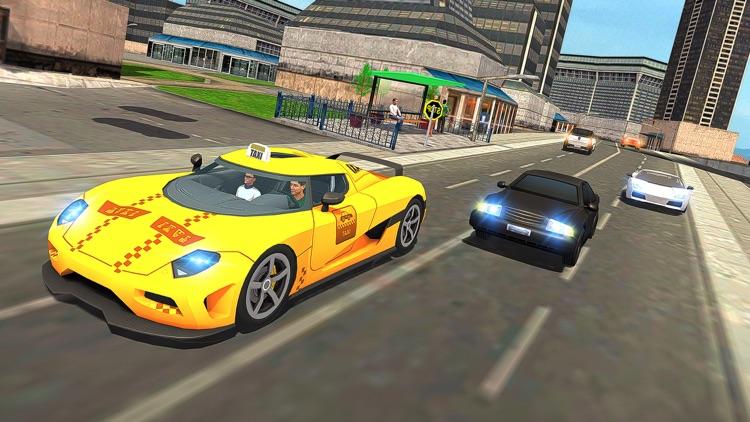 Modern City Cab Simulator 2016 screenshot-4