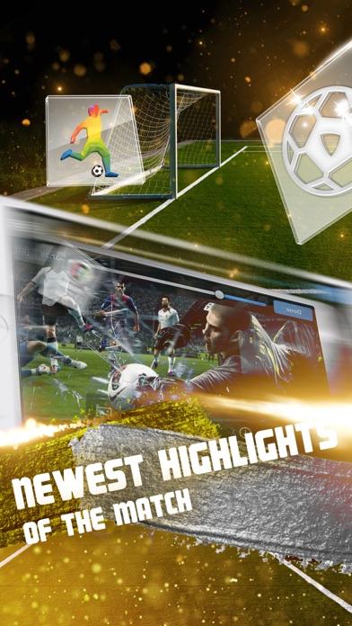 Watch Live Football Stream on TV screenshot one