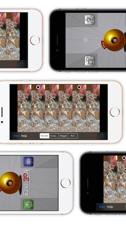 iCam3Ra Lite - 3D Camera Photo Video Maker screenshot-4