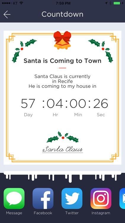 Santa Claus Tracker - Christmas Countdown Begins screenshot-4