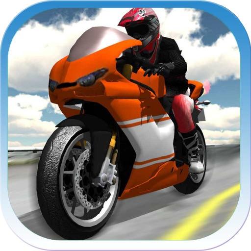мотоцикл гоночный высокого