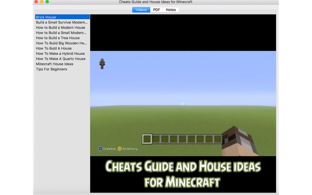 ‎Cheats Guide and House Ideas for Minecraft