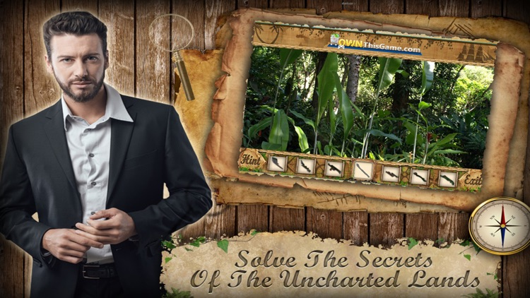 Hidden Objects Game Uncharted