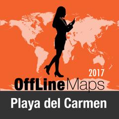 Playa del Carmen Déconnecté carte et guide de