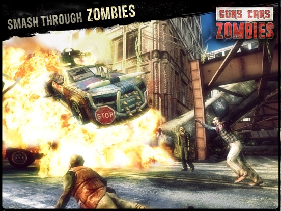 Игра Guns, Cars and Zombies!