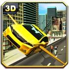 Fliegen Taxi Simulator- Cab Fahren & Parken icon
