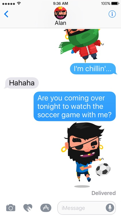 Pirate Kings Stickers for Apple iMessage