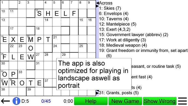 Compact Crossword screenshot-4