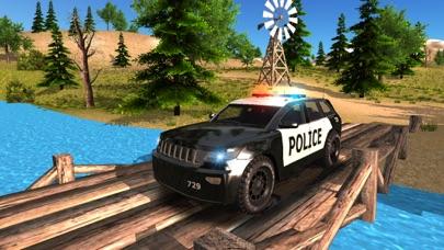 Police Car driving Offroad 4x4のおすすめ画像5