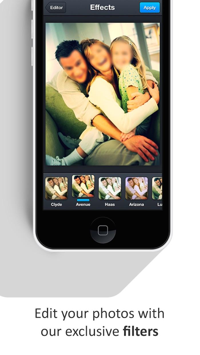 Photo Blur Wallpaper Booth App Screenshot