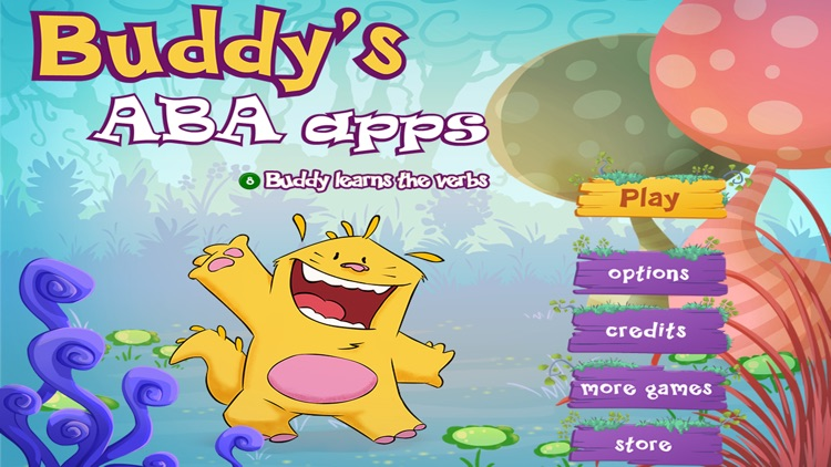 Learn the verbs - Buddy's ABA Apps
