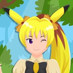 Princess Monster Girl-DressUp Game Pokemon Edition