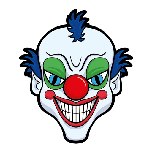 Evil Clown Stickers - Clown Stickers for iMessage
