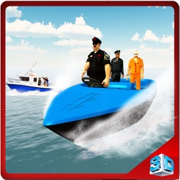 Police Transporter Sea Boat & Ship Sailing Sim
