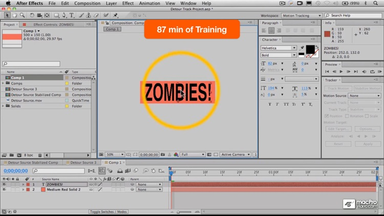 Course For After Effects Motion Tracking screenshot-4
