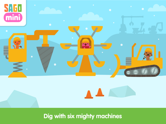 Sago Mini Holiday Trucks and Diggers Screenshots