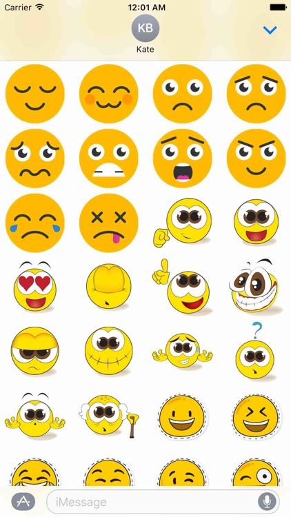 Funny Smileys Sticker Pack!