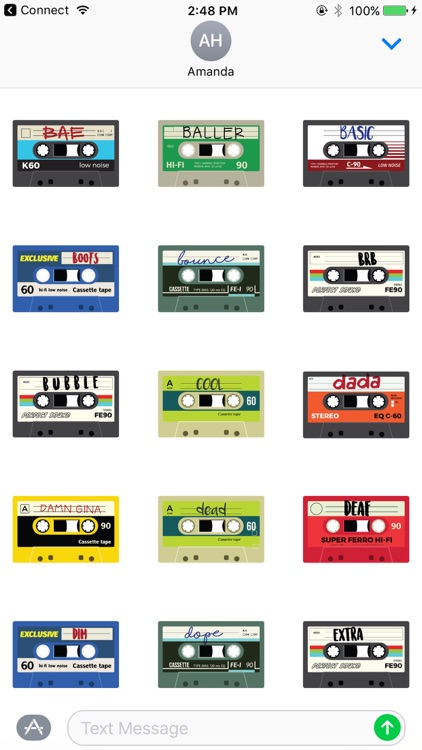 Mixtape Stickers