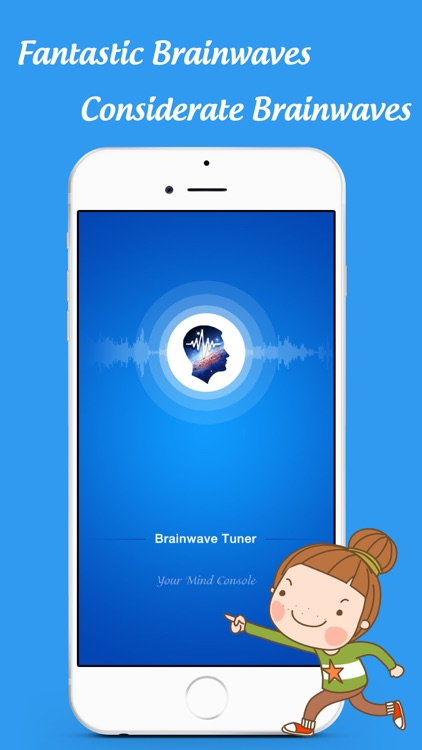 BrainWave Tuner - Binaural beats & white noise screenshot-0
