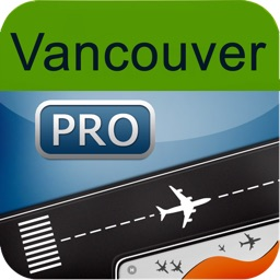 Vancouver Airport + Flight Tracker