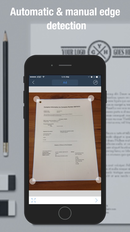 Scan Master Pro - PDF Scanner to Scan Docs & Cards screenshot-1