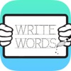 Write English Words HD: Learn to write from A-Z and number from 1-10, free games for children
