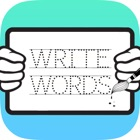 Write English Words HD: Learn to write from A-Z and number from 1-10, free games for children icon