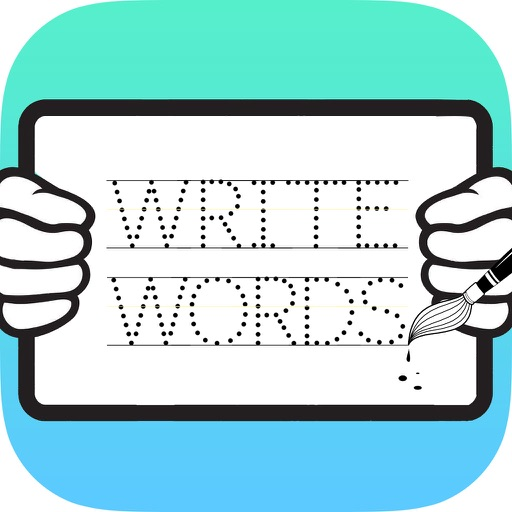 Write English Words HD: Learn to write from A-Z and number from 1-10, free games for children iOS App