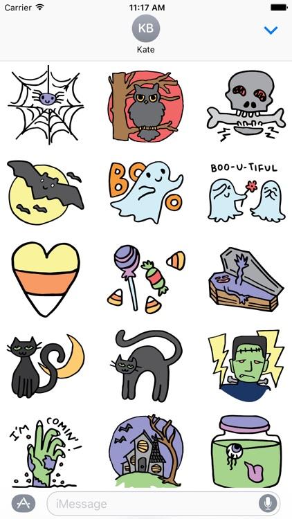 Halloween stickers for all screenshot-3