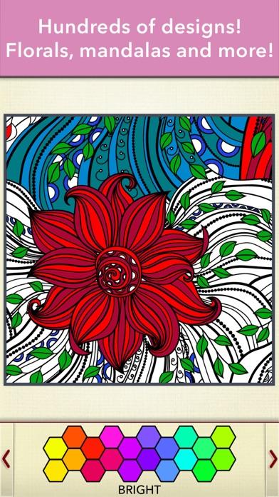 Zen Colouring for Adults screenshot three