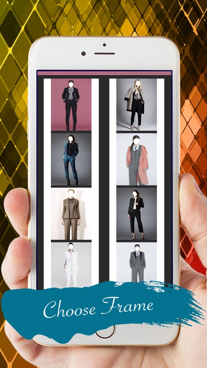 Women Fashion Suit Photo Montage screenshot-3