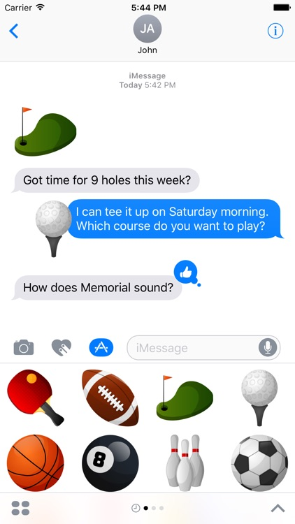 Sports Stickers for iMessage screenshot-3