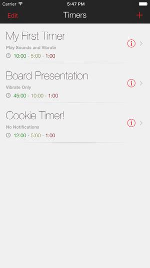 presentation clock on the app store