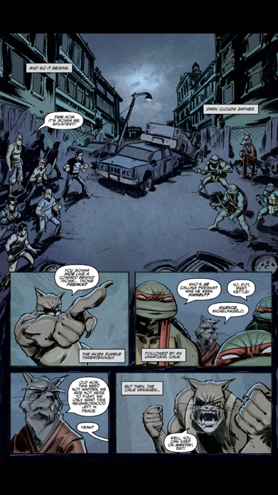 TMNT Comics Screenshot