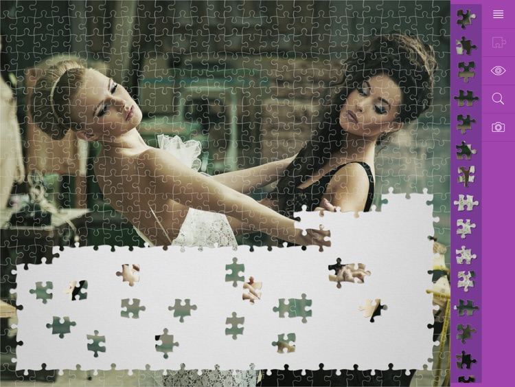 Jigsaw Puzzles Mysterious Girl screenshot-4