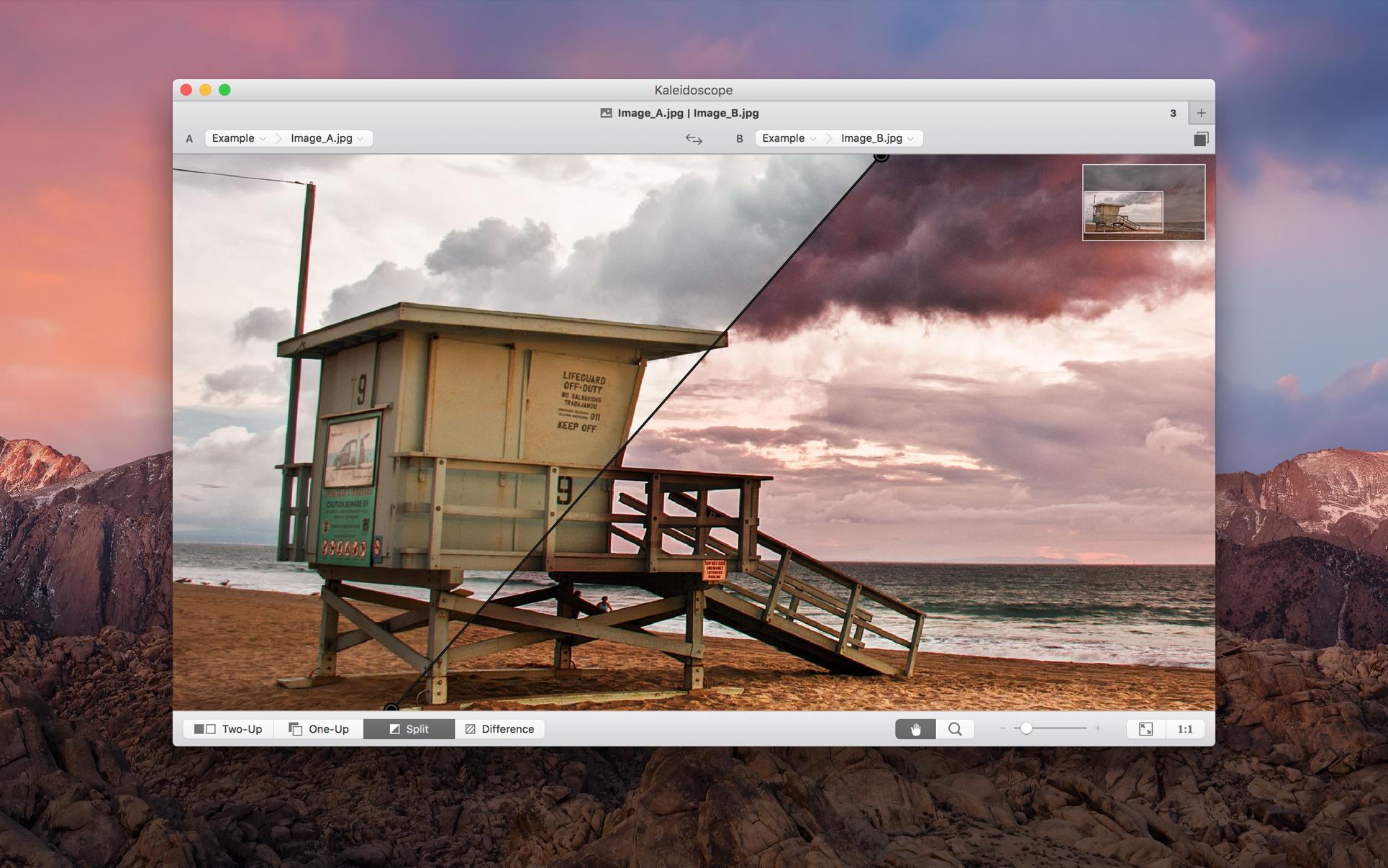 Kaleidoscope 3.0.2 Mac 破解版 Mac上强大的图片和文本比较工具