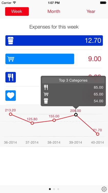 Next for iPhone - Track your expenses & finances
