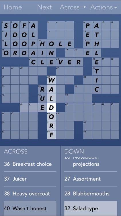 Crossword Puzzles!