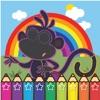 The Explorer Monkey Coloring Book for dora kid