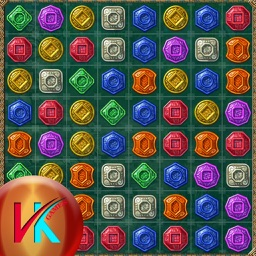Treasures Match Adventure Puzzle Game