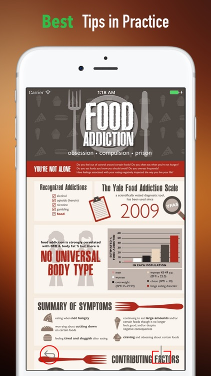 Food Addiction Self Help Handbook:Overcoming screenshot-3