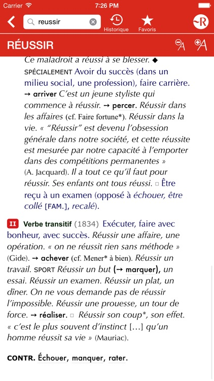 Le Petit Robert de la langue française screenshot-2