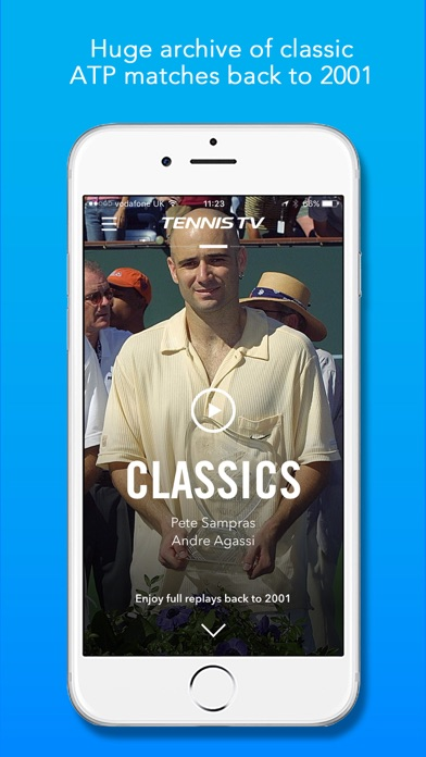 Tennis TV - Live Streaming app image