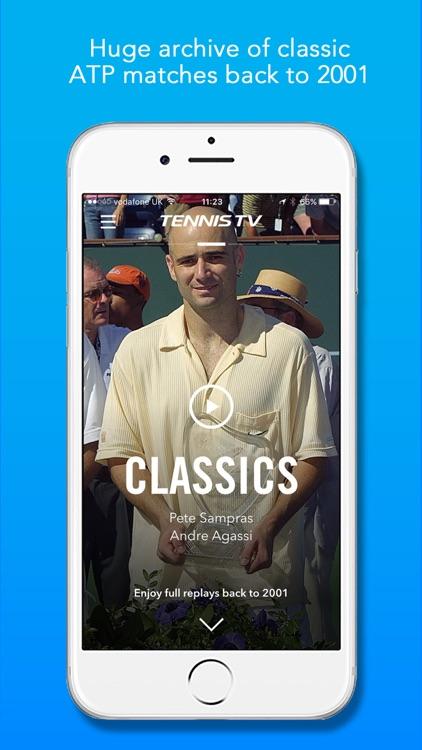 Tennis TV - Live ATP Tennis Streaming app image