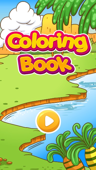 Dinosaur Coloring Pages For Kids Draw Paint Games - by Arnon ...